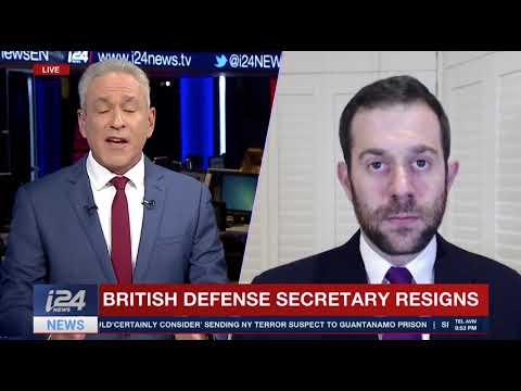 UK Defence Secretary Sir Michael Fallon resigns. Jonathan Sacerdoti reports.