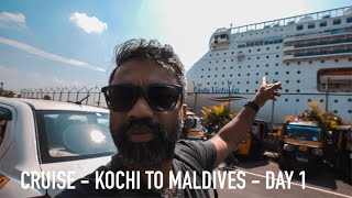 Full day Cruise Experience | Kochi to Maldives Day 1| Costa Victoria Cruise