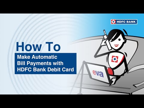 How to set automatic bill payments on your Debit Card
