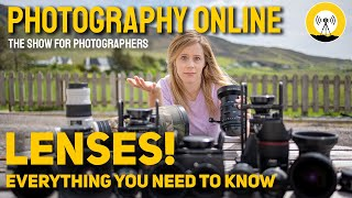 Photography MYTH BUSTING - Lenses Explained - Camera Bags - Gimbal Heads - Family Portraits