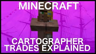 Minecraft Cartographer Trades Explained in 1.14.4