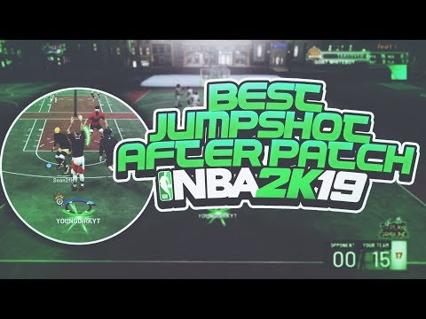 BEST NEW JUMPSHOT AFTER PATCH 4 IN NBA 2K19!