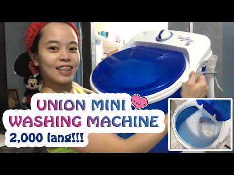 Bumili at sinubukan ko ang Union Mini Washing Machine | Sulit ba? | Joy and Cris