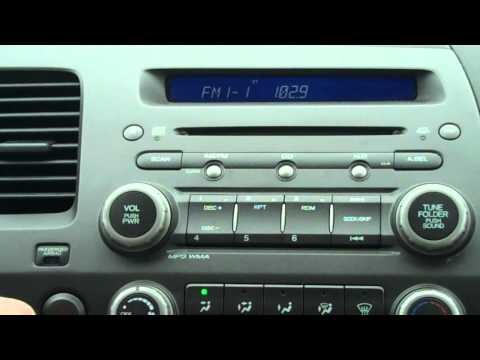 How to reset your Honda radio code - Townsend Honda