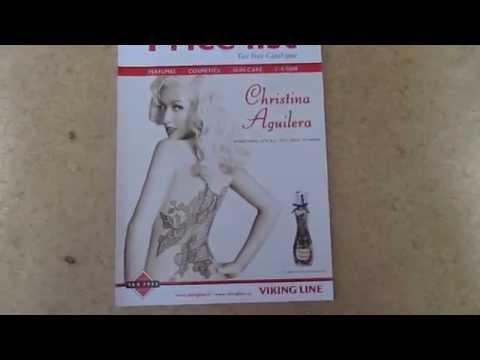 Price List Tax Free Catalogue c Christina Aguilera