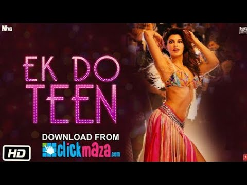 Baaghi 2: Ek Do Teen Full Video Song | Jacqueline Fernandez |Tiger Shroff | Disha Patani | Ahmed K