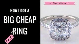 How I Got A BIG CHEAP Engagement Ring | HEATHER ROAMS