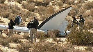 SpaceShipTwo-Absturz: Verdacht auf menschliches Versagen