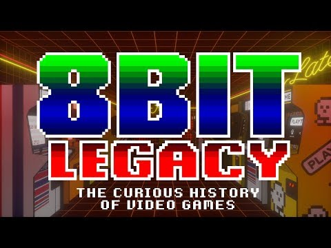 The Curious History of  Games  8 Bit Legacy TRAILER