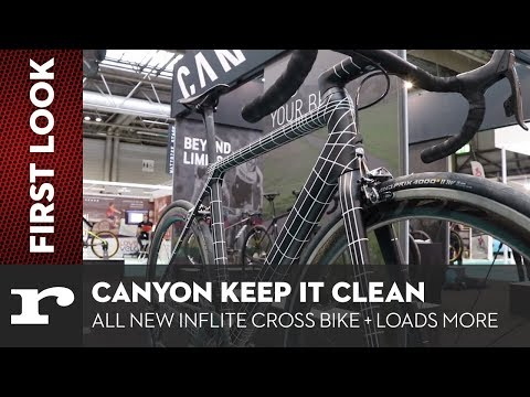 Canyon keep it clean - All new Inflite Cross bike + loads more