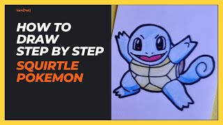 Let's Draw Squirtle - Pokemon