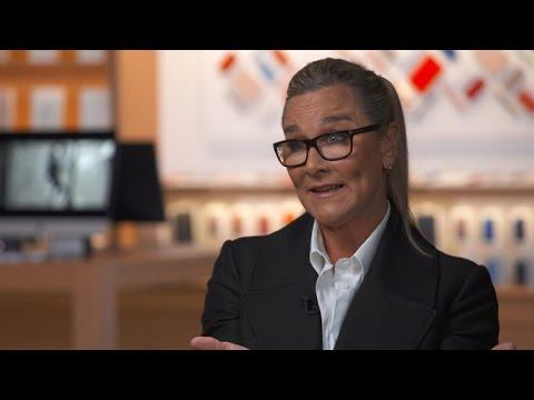 "Apple exec Angela Ahrendts on ""responsibility"" of big companies"