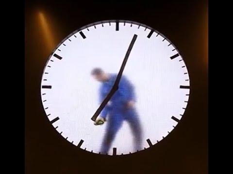 Schiphol Airport Clock Amsterdam Netherlands