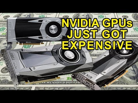 Why Nvidia Graphics Cards Just Got Expensive
