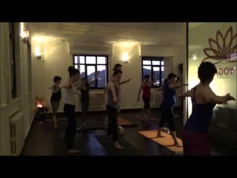 Amanece en Bilbao desde Ashtanga Yoga Bilbao - clase guiada.