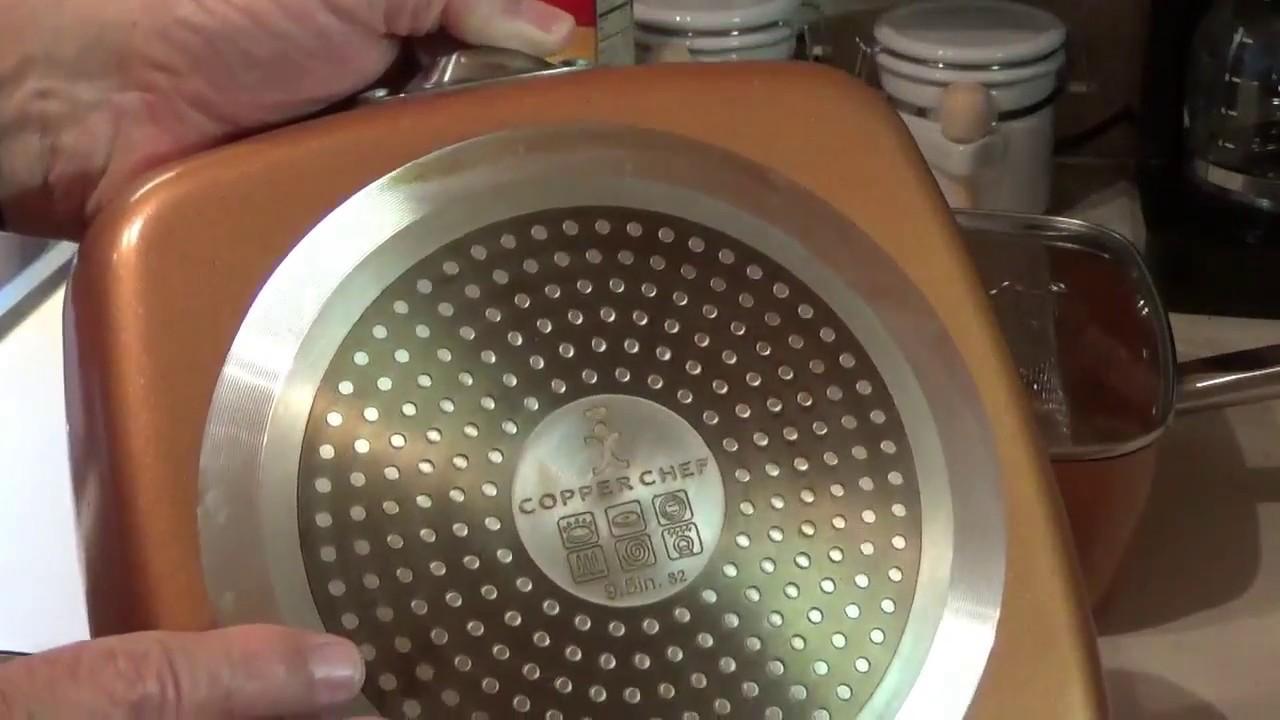 Copper Upside Down Cake Pan
