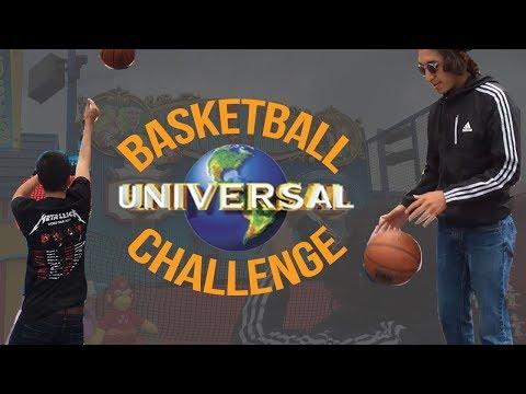 BASKETBALL CHALLENGE @ UNIVERSAL STUDIOS