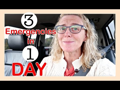 3 EMERGENCIES IN 1 DAY