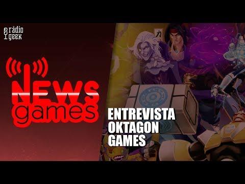 Entrevista com Oktagon Games // News Games // Radio Geek