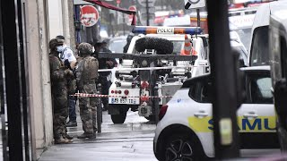 video: Two injured in Paris attack near the former offices of Charlie Hebdo