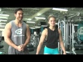 Chest & Back Dropset Workout w/ Q&A | Andy Swanson & Cassie Smith