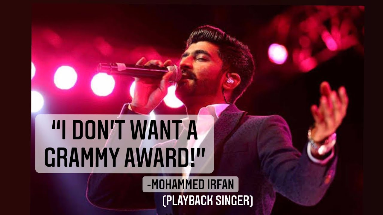 The love from the audience is my award! – Mohammed Irfan   Sakshma Srivastav