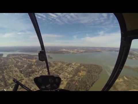 GoPro: R22 Helicopter Add-On Full Flight #20 Cross Country SOLO #2 JWN-M33 ...