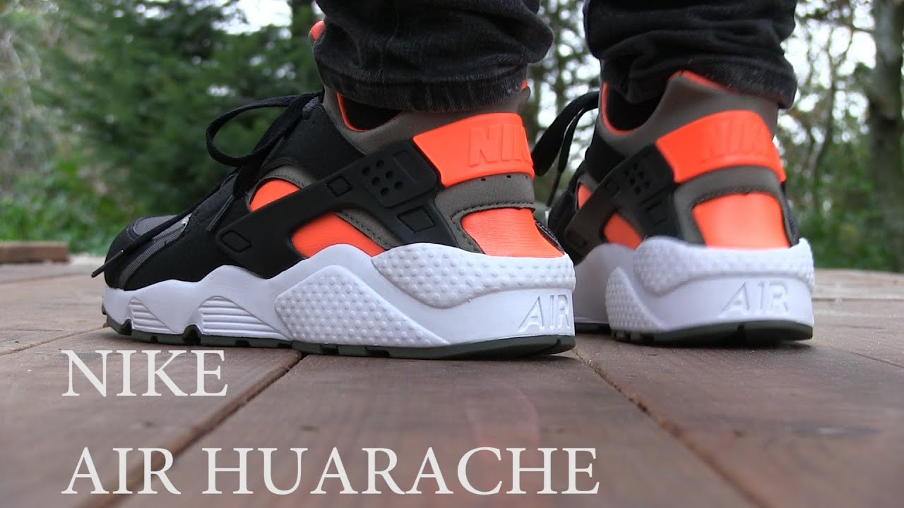 size 40 13ecf c5f87 Nike - Air Huarache (Black   Iron Green) - Quick Review + On Feet