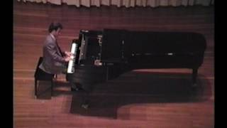 Robin Zebaida plays Mozart Sonata in A minor K.310 - Live in Hong Kong 1988