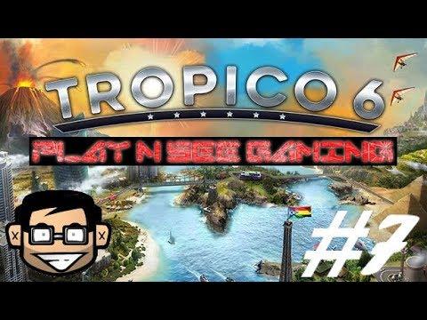 Tropico 6 how to make money fast Ep07 |