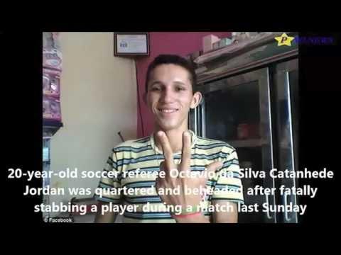 South American Soccer Referee Beheaded!! SAO PAULO , BRAZIL WARNING