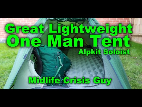 Great Lightweight One Man Tent - Alpkit Soloist