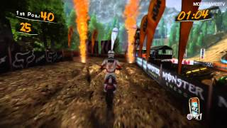 MUD FIM Motocross World Championship PS3 Demo - Checkpoint Race Gameplay