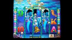 Magic Mermaid 24 Spins Re-Trigger Bonus - 2c Aristocrat Video Slots
