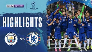 Manchester City 0-1 Chelsea   Champions League 20/21 Match Highlights