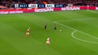 bayern munich vs arsenal 5 1 10 2 arturo vidal goal march 7 2017