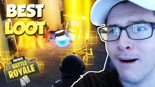 THE BEST LOOT EVER IN SOLID GOLD MODE! (Fortnite Battle Royale)