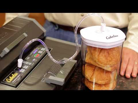 Cabelas Vacuum Sealer Instructional Video