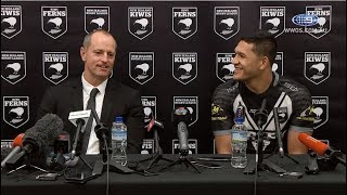 Test Match Football: New Zealand Press Conference