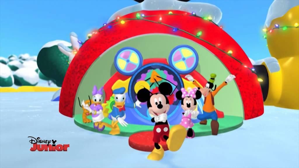 Natale a disney junior la casa di topolino il for La fattoria di topolino