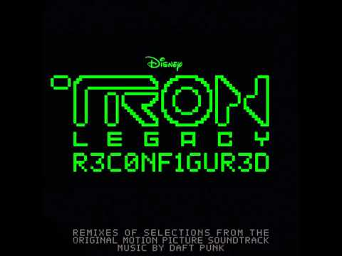 TRON Legacy R3CONF1GUR3D  02  Fall M83 Vs Big Black Delta Remix Daft Punk