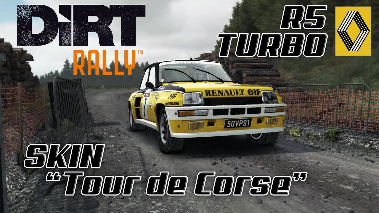 dirt rally 6 prueba r5 turbo skin tour de corse youtube. Black Bedroom Furniture Sets. Home Design Ideas