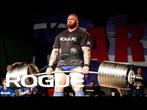 2019 Arnold Strongman Classic - Rogue Elephant Bar Deadlift Highlights
