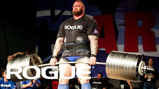 2019 Arnold Strongman Classic - Rogue Elephant Bar Deadlift Highlights