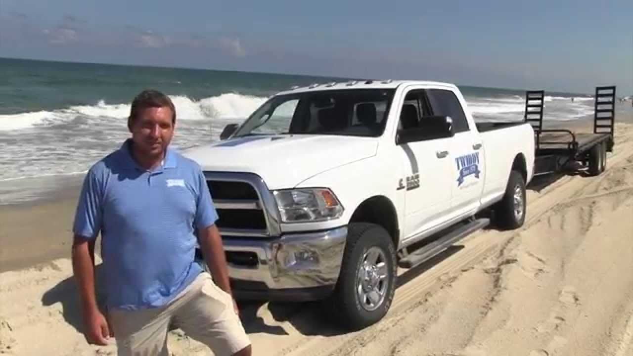 How To Drive A Trailer On The Outer Banks 4x4 Youtube