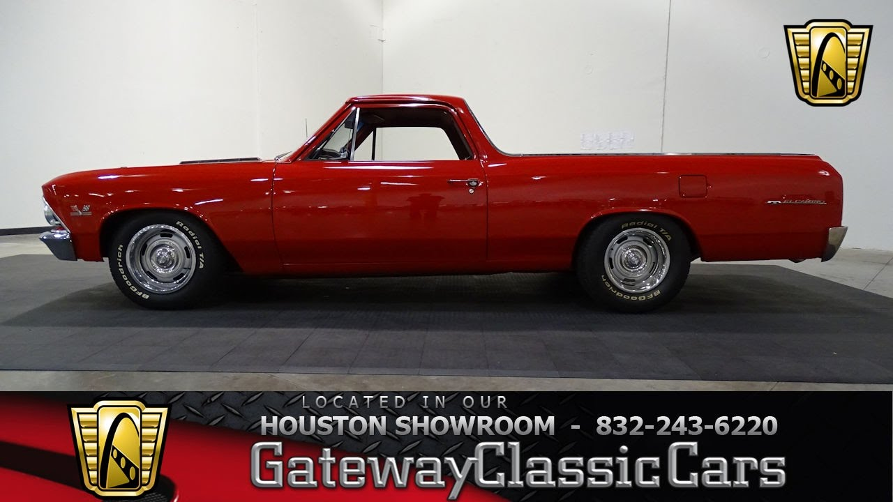 Hou Chevrolet El Camino Gateway Classic Cars Houston