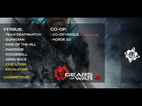 LIVESTREAM ROAD TO GEARS OF WAR 4 Ess MooMooMiLK Gears of War Paradise Worldwide