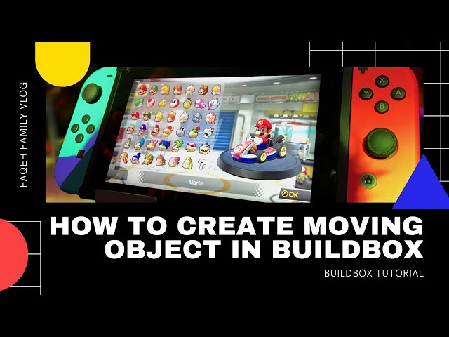Buildbox Tutorial: Create Moving Object in Buildbox 2 part 1
