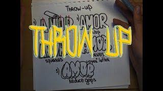Делаем свой граффити шрифт - Урок 1