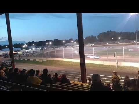 Plymouth Dirt Track Grand National B Main mp4 6 24 2017